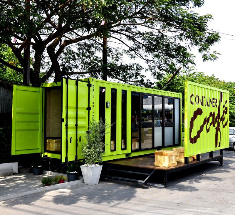 kinh doanh quán cafe container
